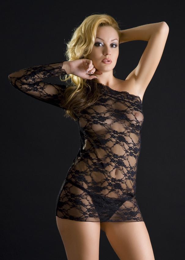 кружевные платья ню фото - 11